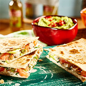 Smoky Veggie Quesadillas